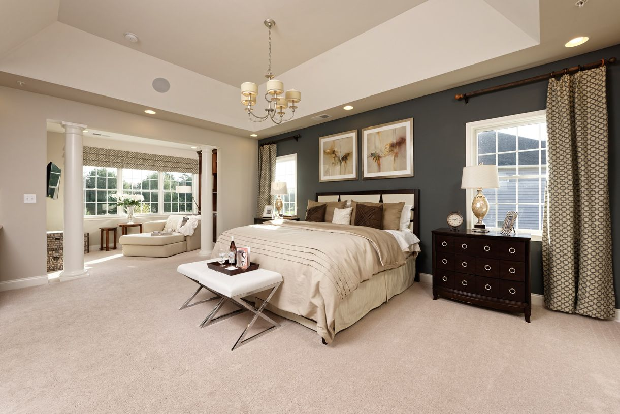 Bedroom featured in the Harding By Toll Brothers in Bergen County, NJ