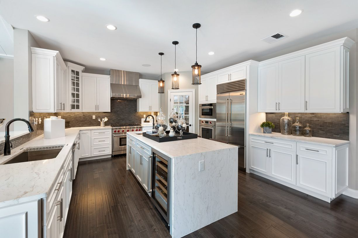 Kitchen featured in the Harding By Toll Brothers in Bergen County, NJ