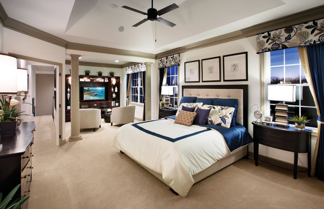 Bedroom featured in the Hopewell By Toll Brothers in Bergen County, NJ