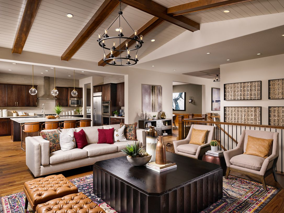 Living Area featured in the Chatfield By Toll Brothers in Denver, CO