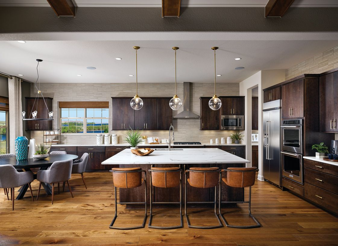 Kitchen featured in the Chatfield By Toll Brothers in Denver, CO