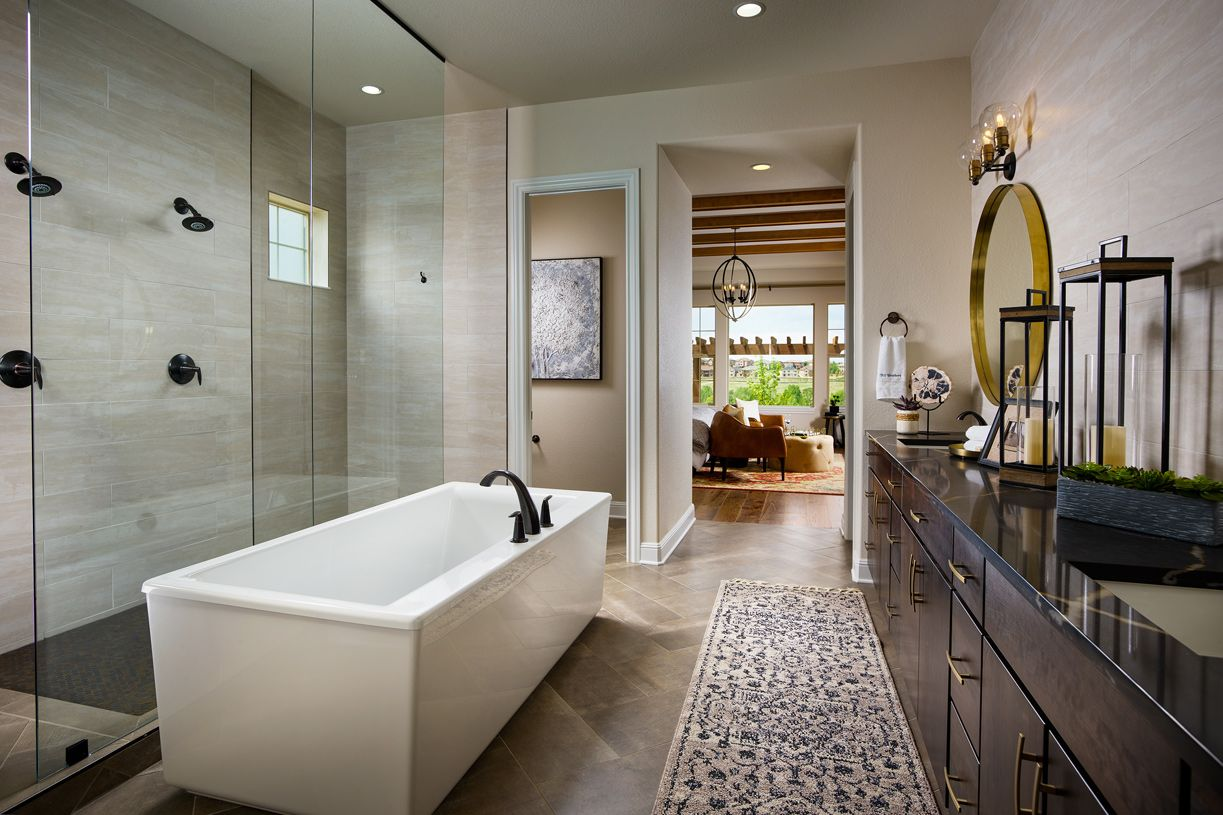 Bathroom featured in the Chatfield By Toll Brothers in Denver, CO