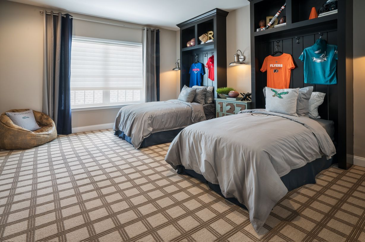 Bedroom featured in the Deerfield By Toll Brothers in Philadelphia, PA