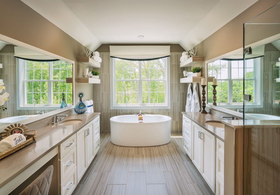 Bathroom featured in the Dandridge By Toll Brothers in Philadelphia, PA