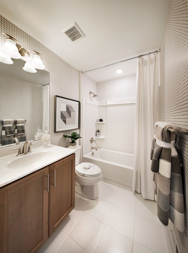 Bathroom featured in the Brookville I By Toll Brothers in Philadelphia, PA
