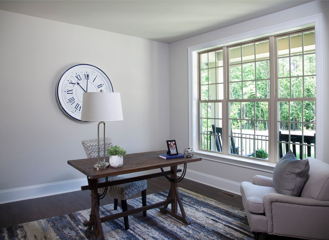 Living Area featured in the Egerton By Toll Brothers in Ann Arbor, MI