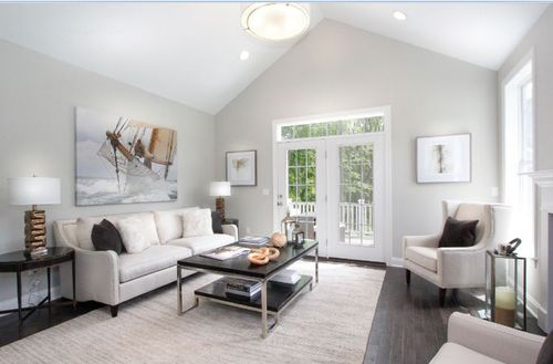Greatroom-and-Dining-in-Bethel-at-Rivington by Toll Brothers - The Enclave Collection-in-Danbury