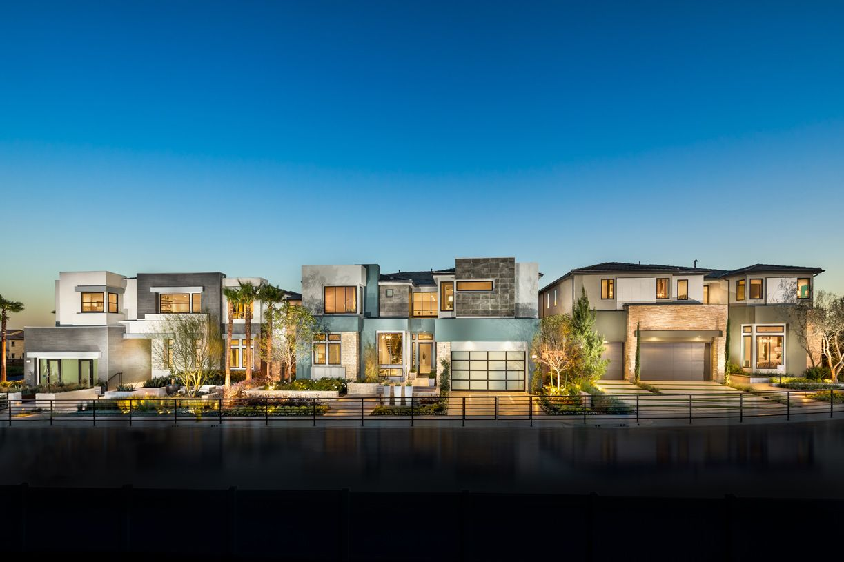 'Westcliffe at Porter Ranch - Cascades Collection' by Toll Brothers-CA-SOUTHERN in Los Angeles