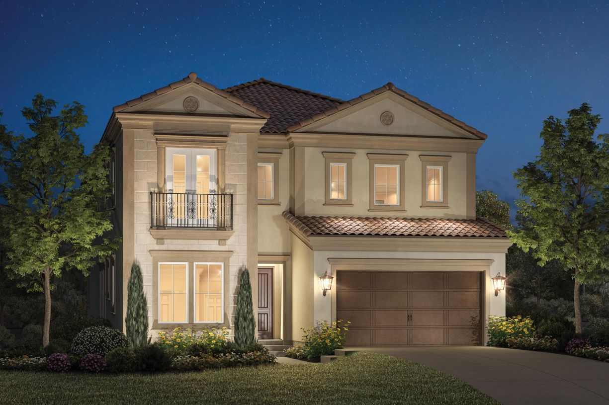 Exterior featured in the Moreno By Toll Brothers in Los Angeles, CA