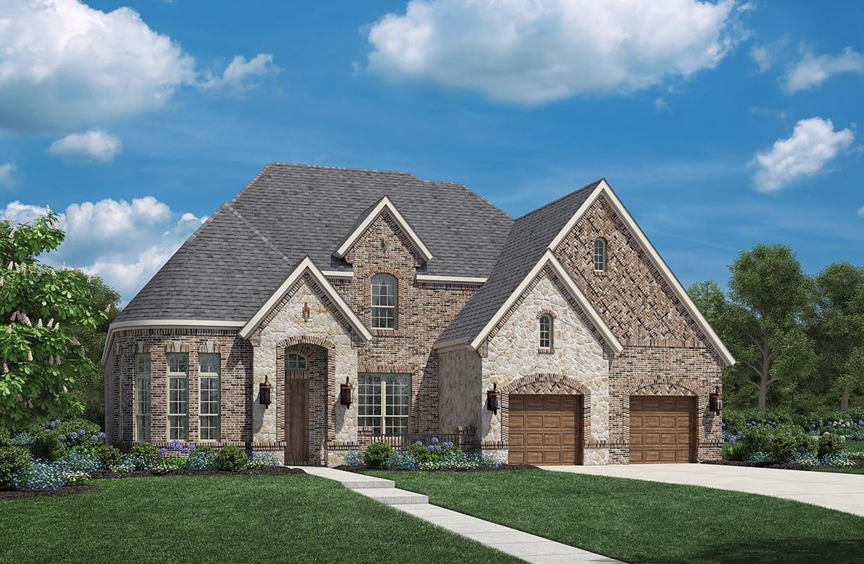 Exterior featured in the Adalyn By Toll Brothers in Houston, TX