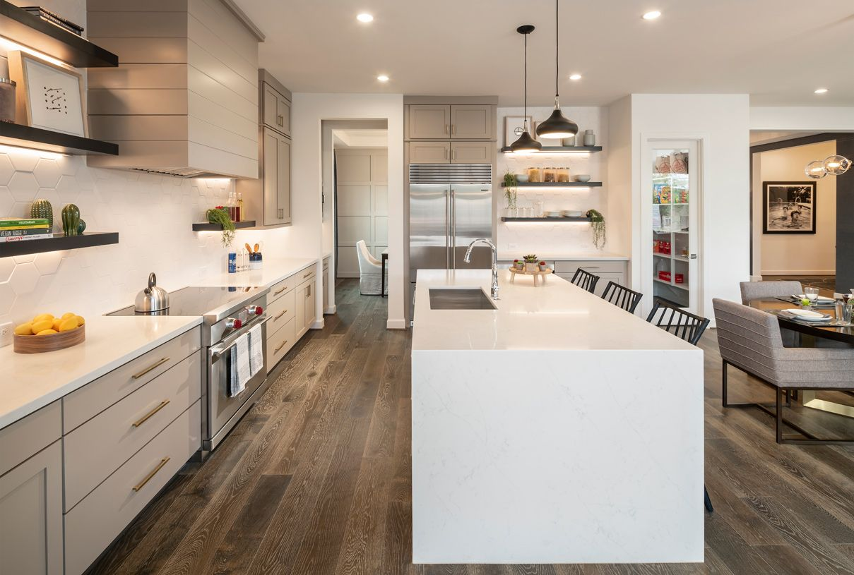 Kitchen-in-Fiora-at-Legacy at Seville-in-Gilbert