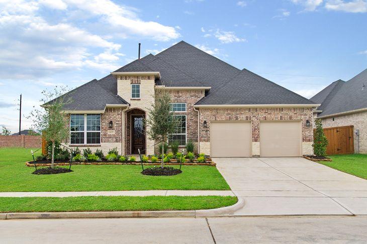 Elevation Image:Beautiful brick and stone elevation