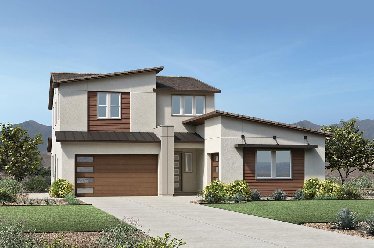Exterior featured in the Savannah By Toll Brothers in Phoenix-Mesa, AZ