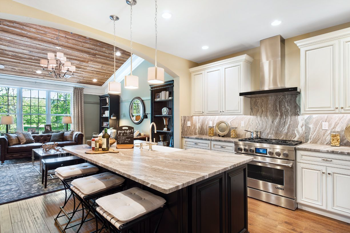 Kitchen-in-Strathmere-at-Preserve at Emerald Pines-in-Methuen