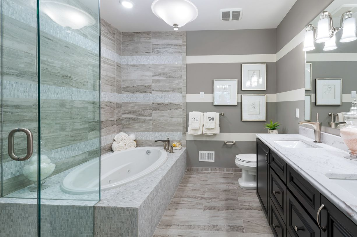 Bathroom featured in the Bristol By Toll Brothers in Boston, MA