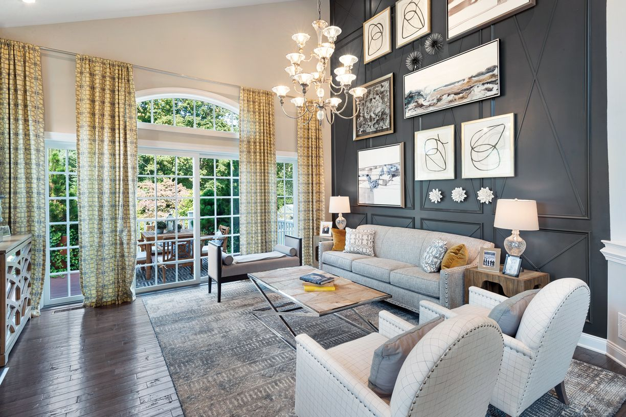 Living Area featured in the Bristol By Toll Brothers in Boston, MA