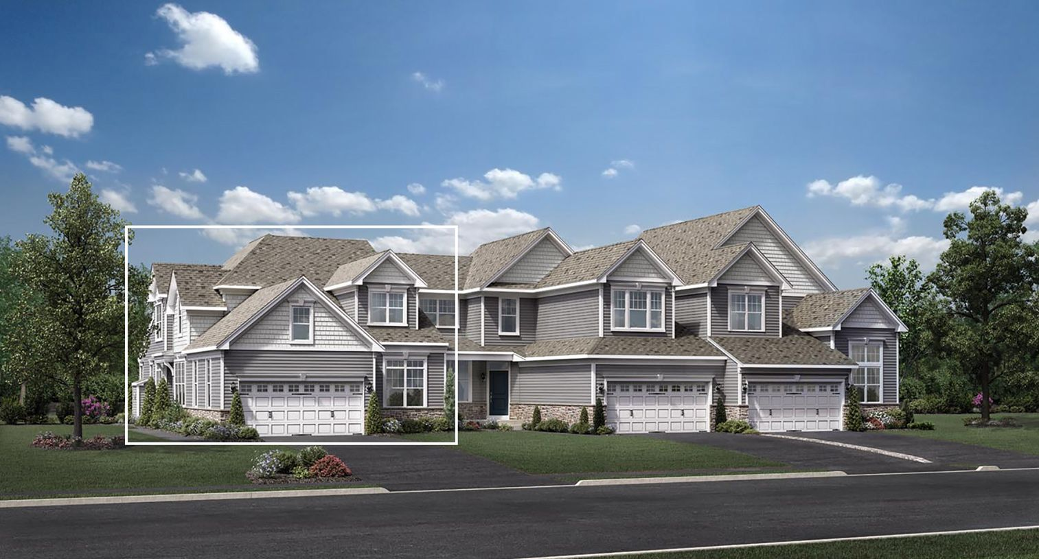 Exterior featured in the Kington By Toll Brothers in Boston, MA