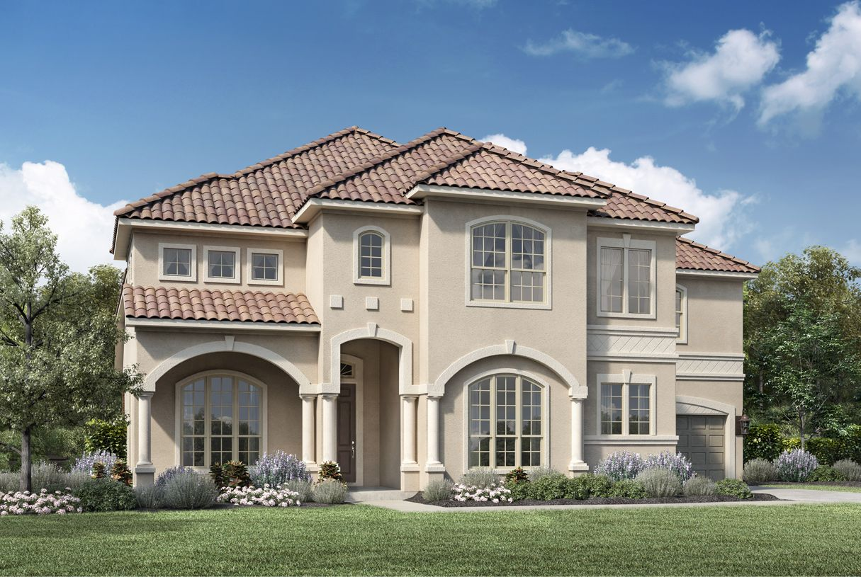 Exterior featured in the Vitoria By Toll Brothers in Dallas, TX