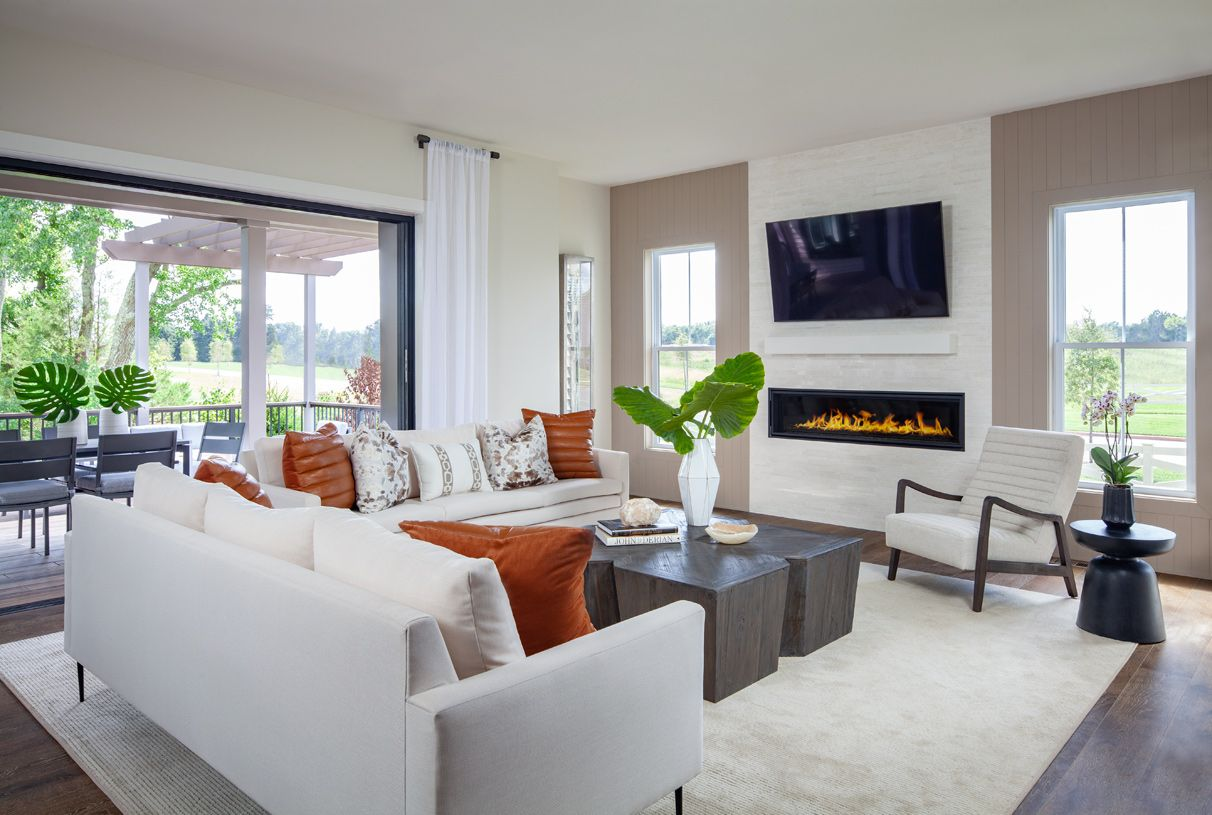 Living Area featured in the Ahrens By Toll Brothers in Washington, VA