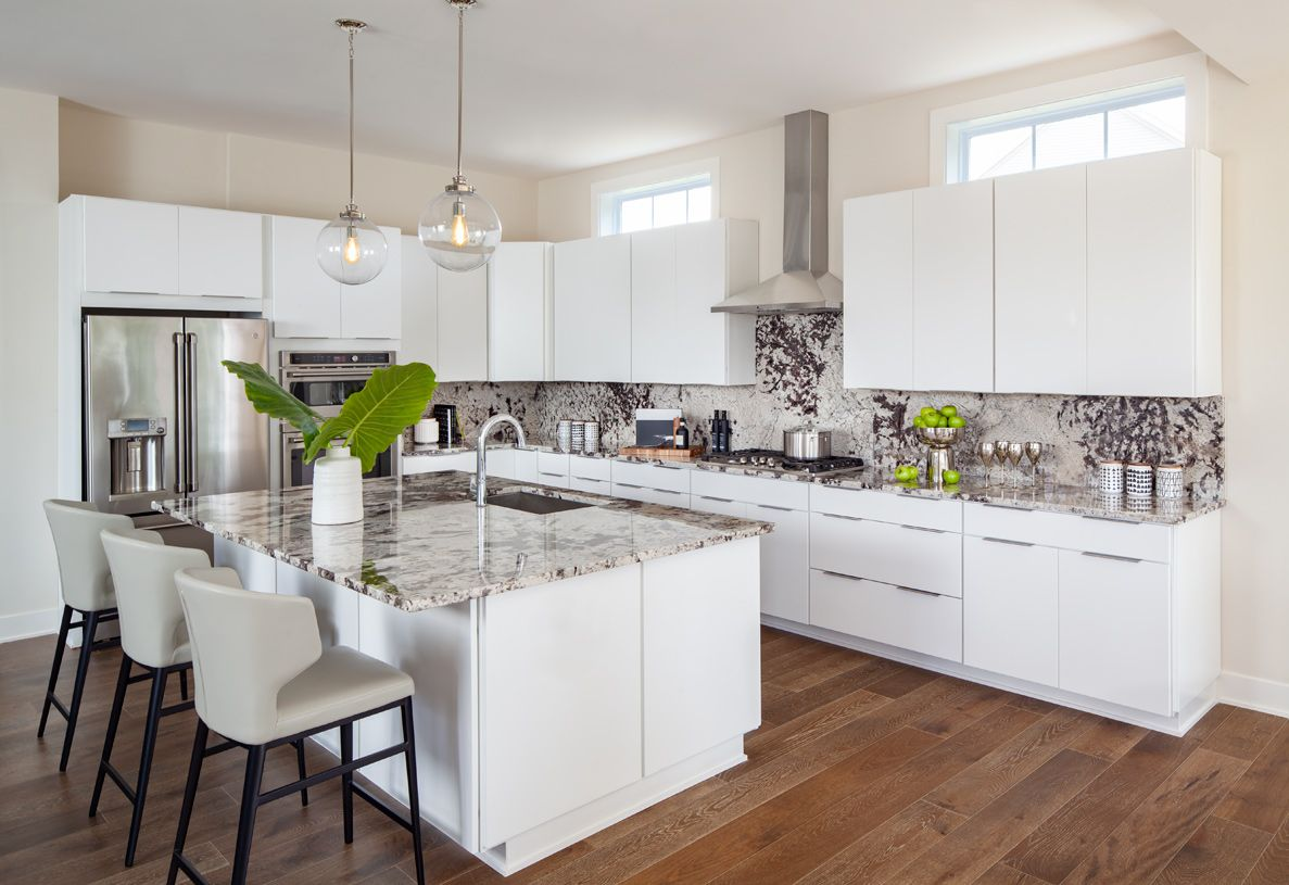 Kitchen featured in the Ahrens By Toll Brothers in Washington, VA