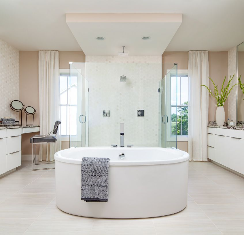 Bathroom featured in the Ahrens By Toll Brothers in Washington, VA