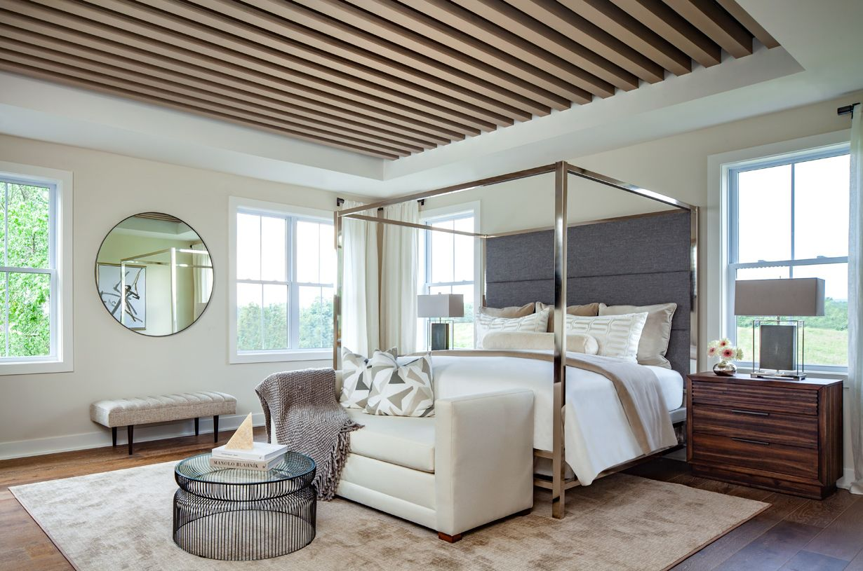 Bedroom featured in the Ahrens By Toll Brothers in Washington, VA