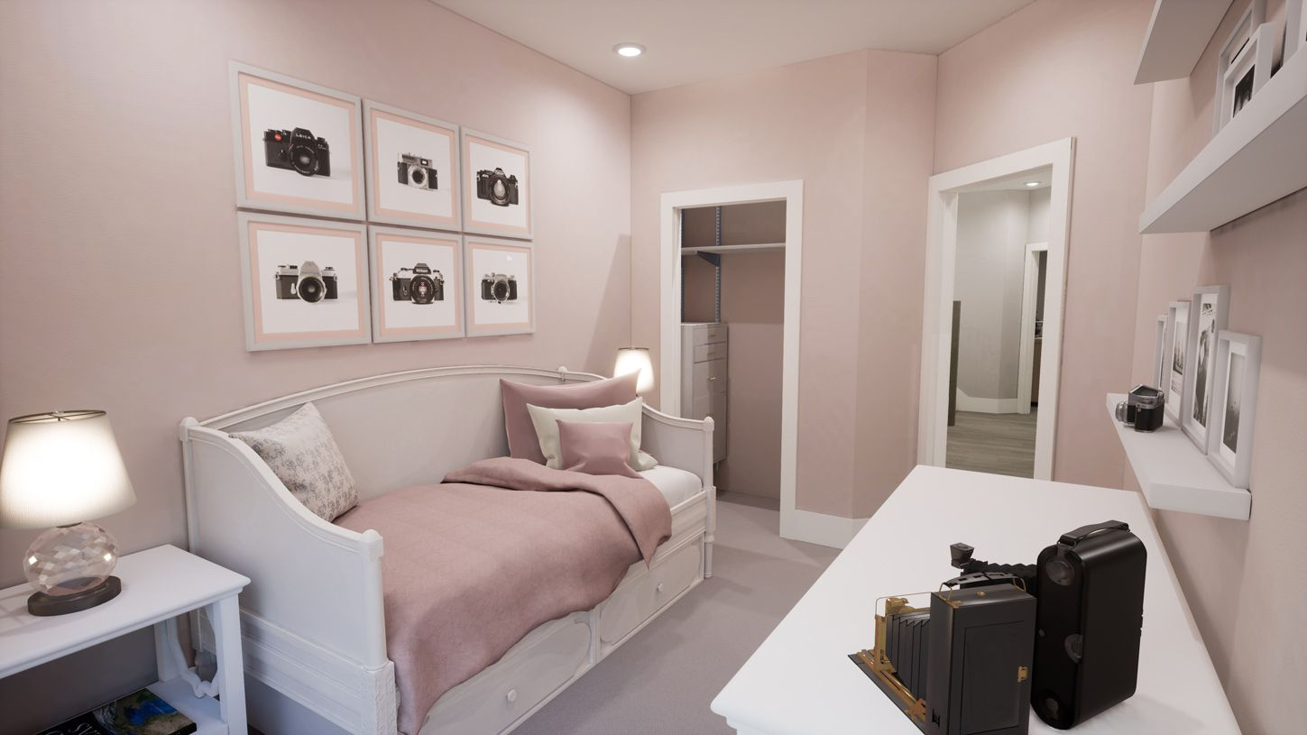 Bedroom featured in the Carroll By Toll Brothers in New York, NY