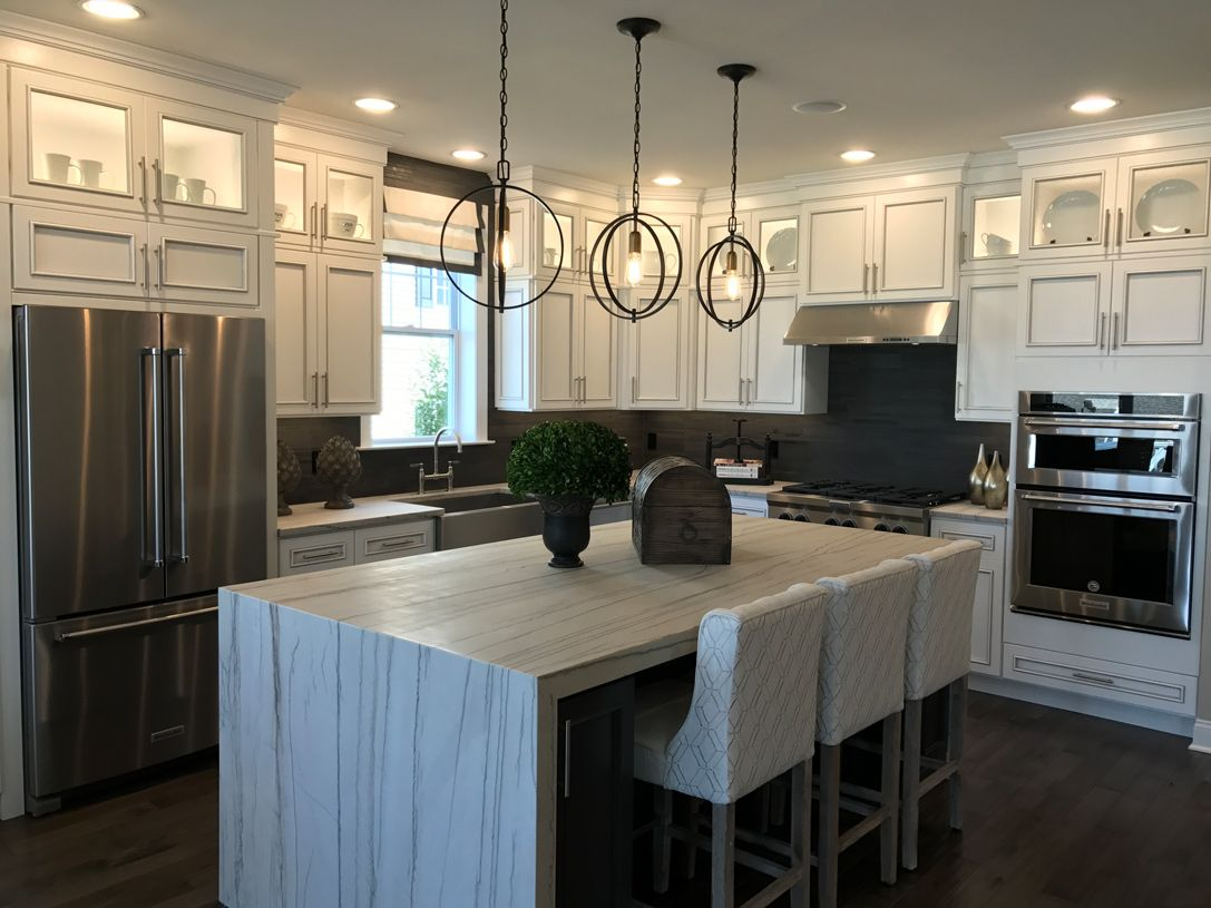 Kitchen-in-Denton-at-Rivington by Toll Brothers - The Ridge Collection-in-Danbury