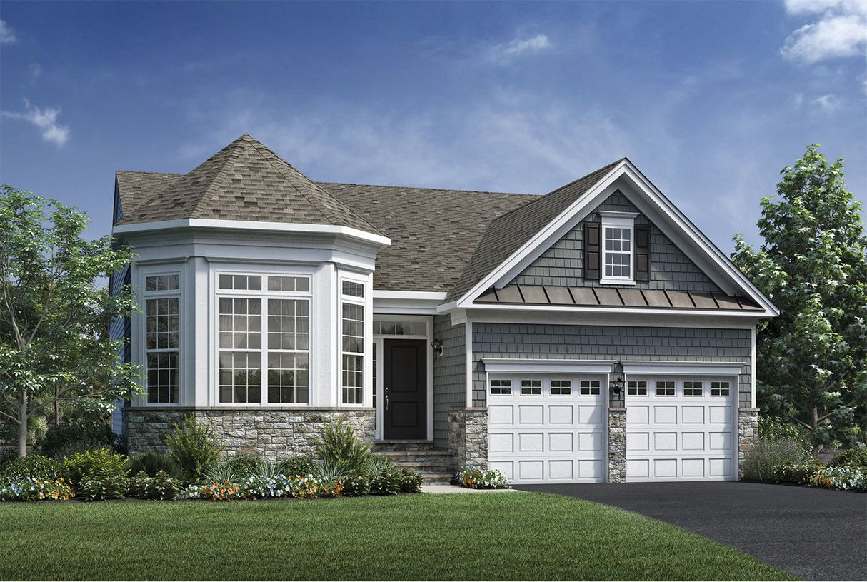 Exterior featured in the Lehigh By Toll Brothers in Boston, MA