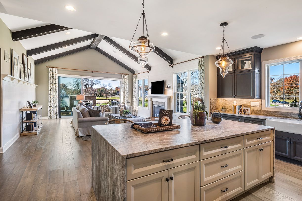 Kitchen featured in the Ashton (NJ) By Toll Brothers in Bergen County, NJ