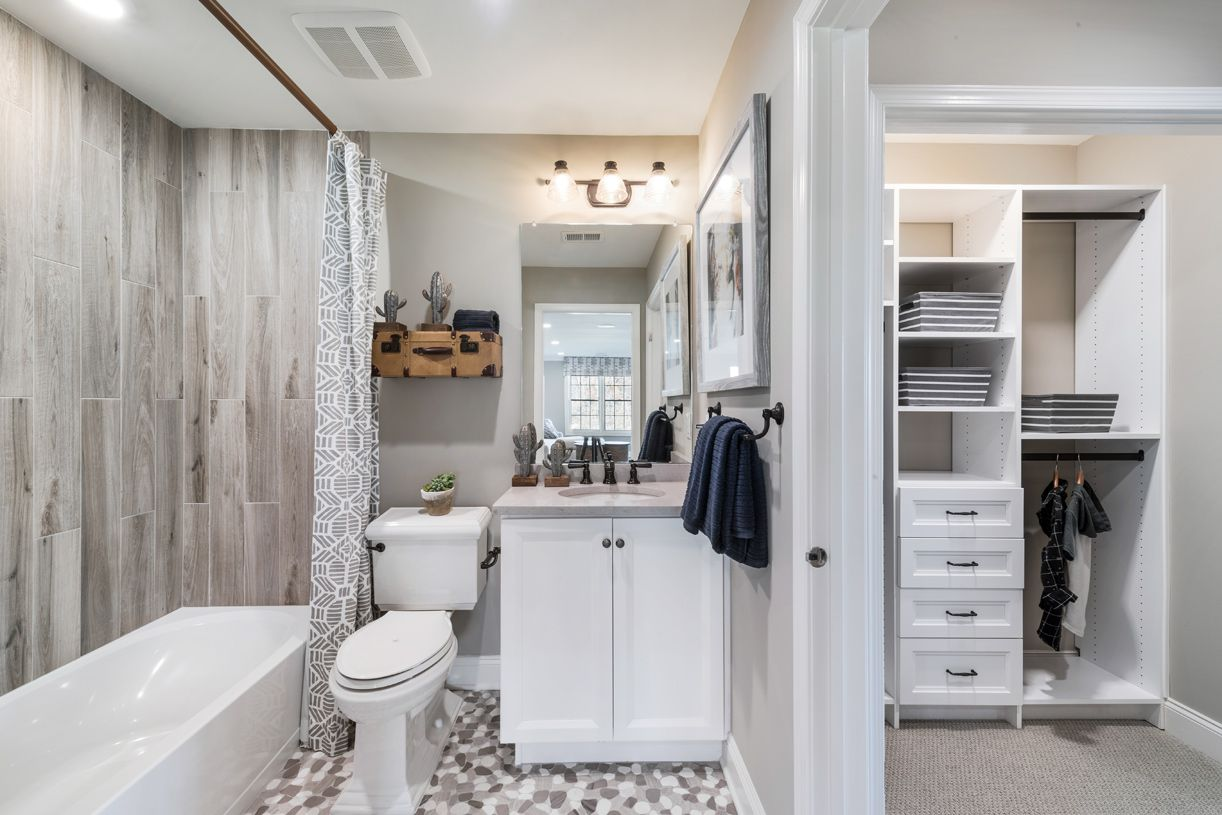 Bathroom featured in the Ashton (NJ) By Toll Brothers in Bergen County, NJ