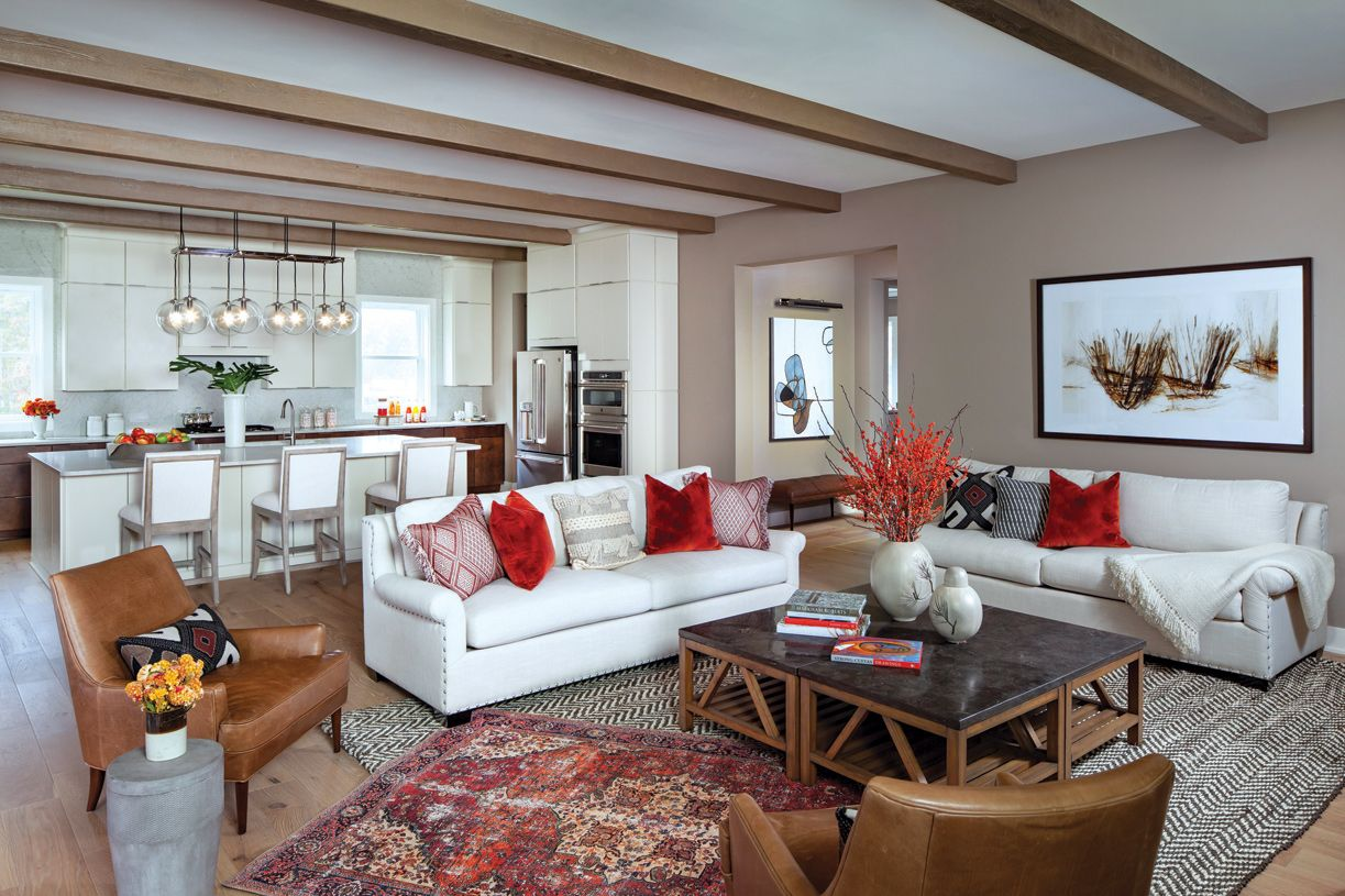 Living Area featured in the Reston By Toll Brothers in Washington, VA