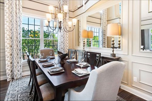 Dining-in-Bucknell II-at-Rivington by Toll Brothers - The Enclave Collection-in-Danbury