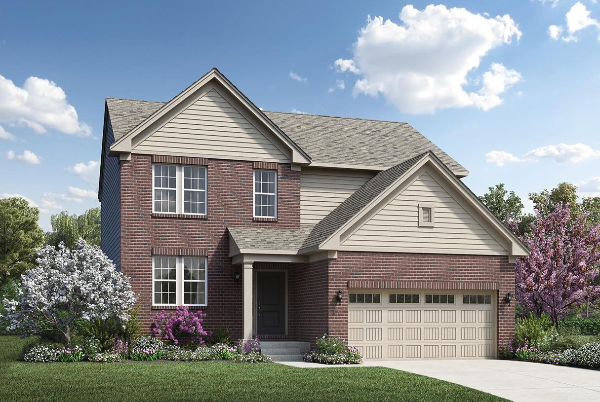 Exterior featured in the Remington By Toll Brothers in Detroit, MI