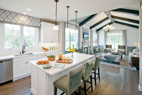 Greatroom-and-Dining-in-Bucknell II-at-Ridgewood at Middlebury-in-Middlebury