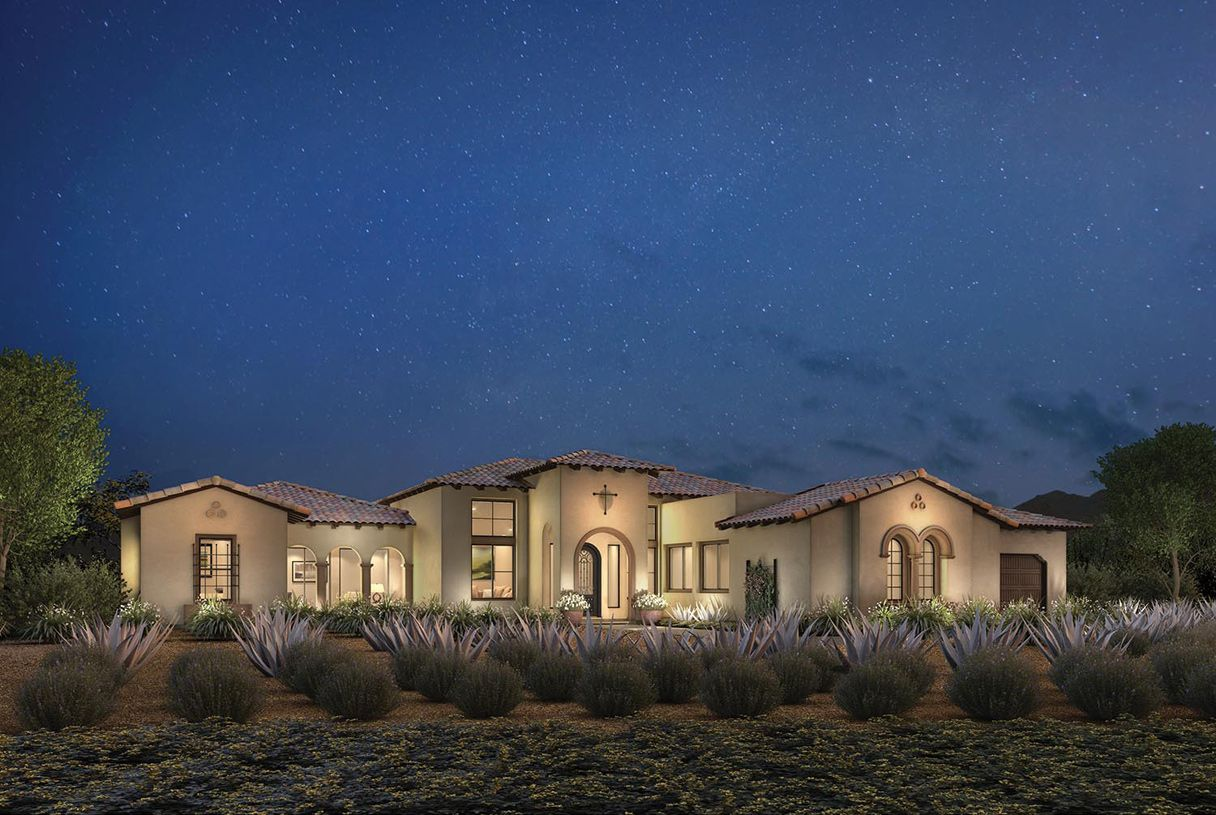 Exterior featured in the Trovilla By Toll Brothers in Phoenix-Mesa, AZ