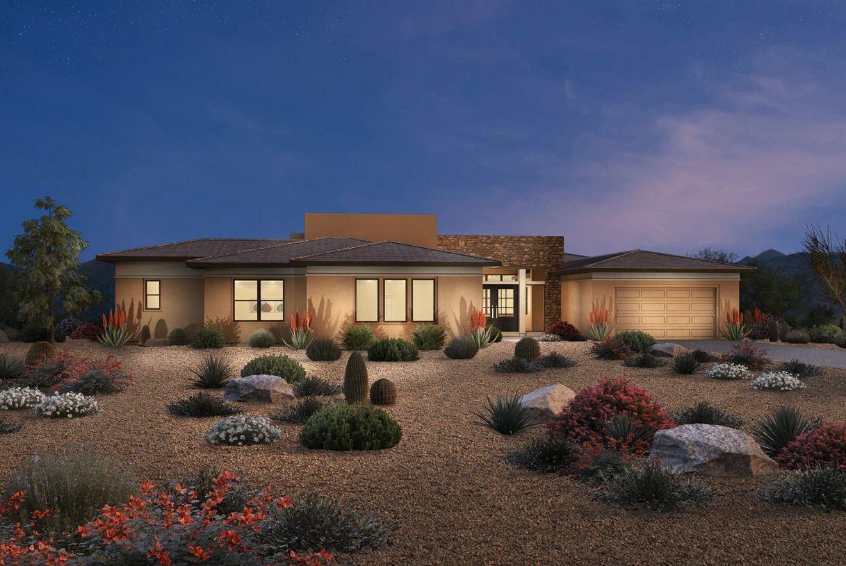 Exterior featured in the Munari By Toll Brothers in Phoenix-Mesa, AZ