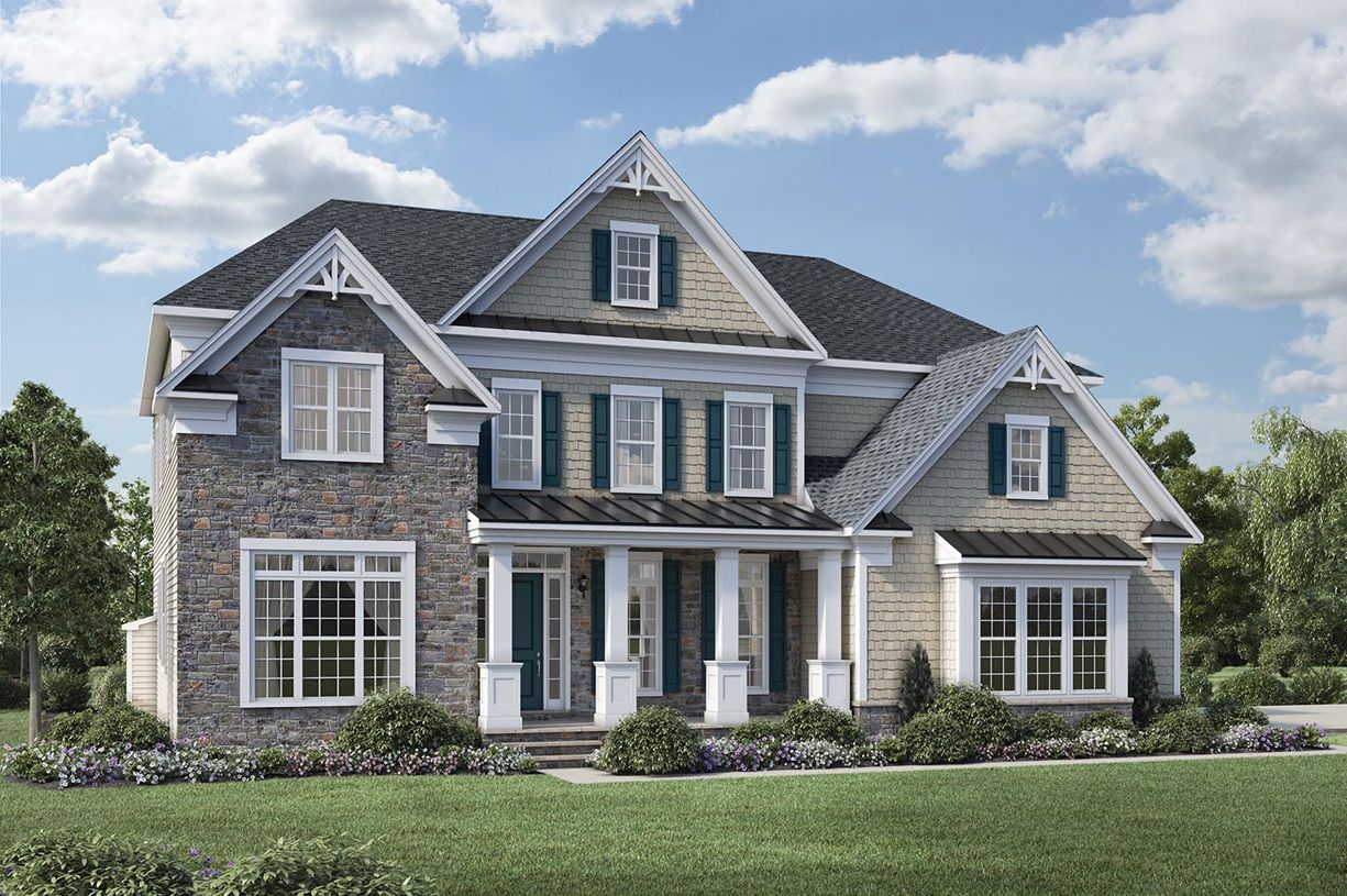 Exterior featured in the Stallworth By Toll Brothers in Monmouth County, NJ