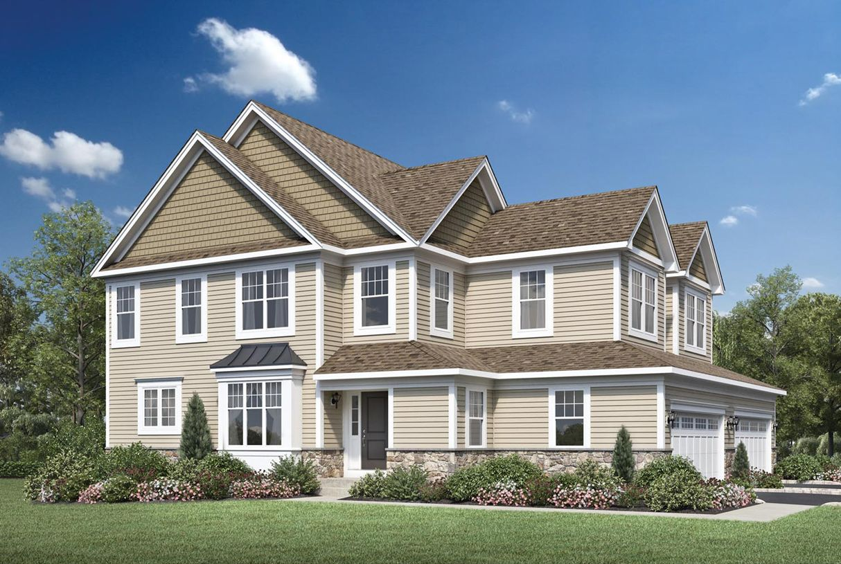 Exterior featured in the Lehman By Toll Brothers in Danbury, CT