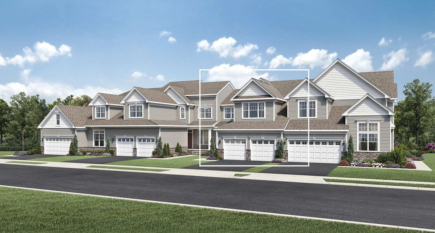 Exterior featured in the Vaughn By Toll Brothers in Boston, MA