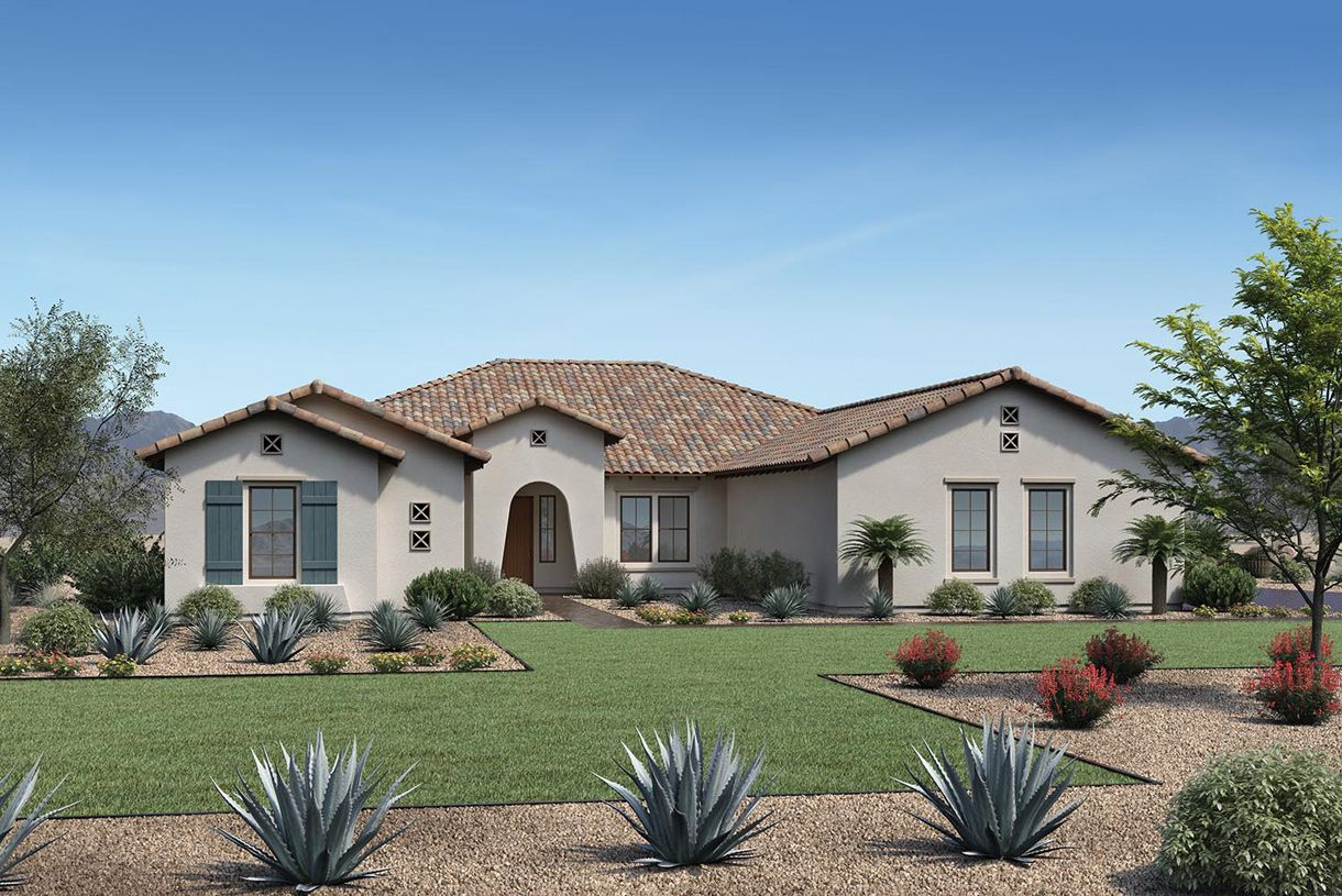 Exterior featured in the Brooks By Toll Brothers in Phoenix-Mesa, AZ