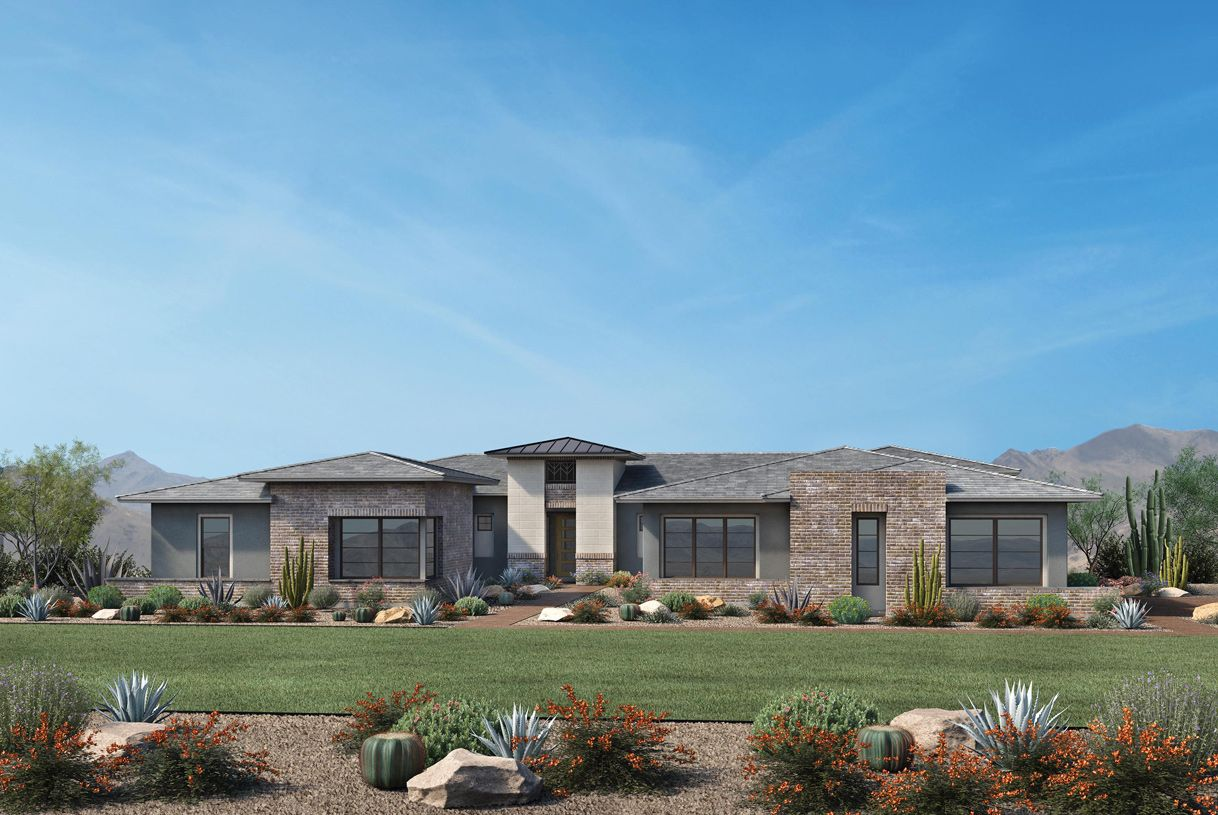 Exterior featured in the Gavin By Toll Brothers in Phoenix-Mesa, AZ