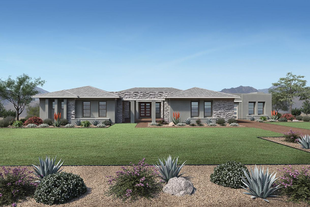 Exterior featured in the Paxton By Toll Brothers in Phoenix-Mesa, AZ