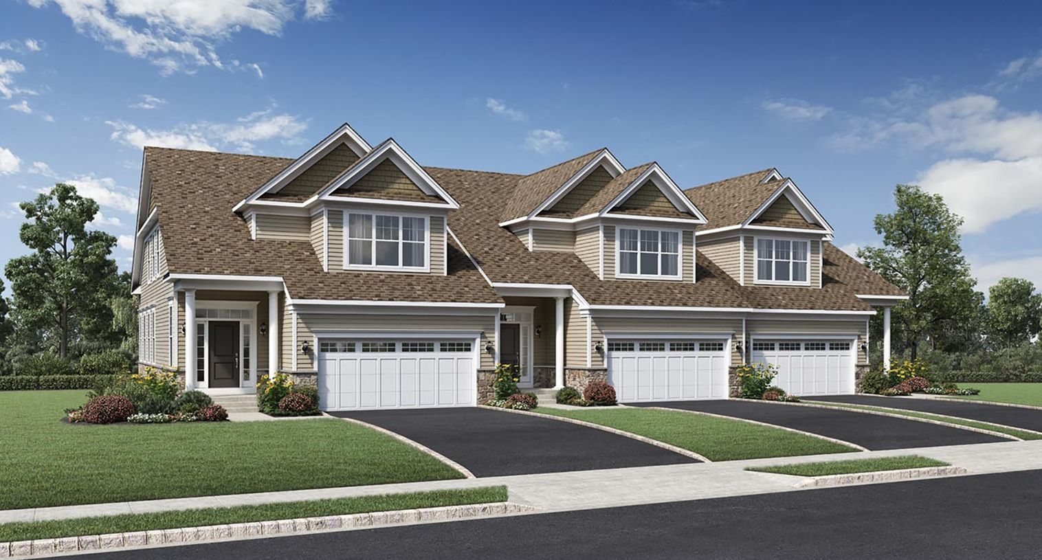 Exterior featured in the Reynolds By Toll Brothers in Danbury, CT