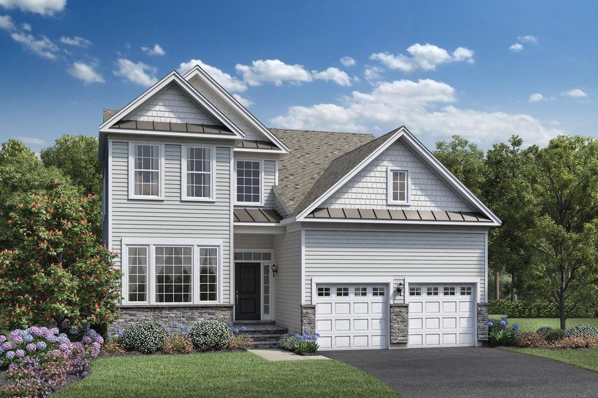 Exterior featured in the Farmington By Toll Brothers in Boston, MA