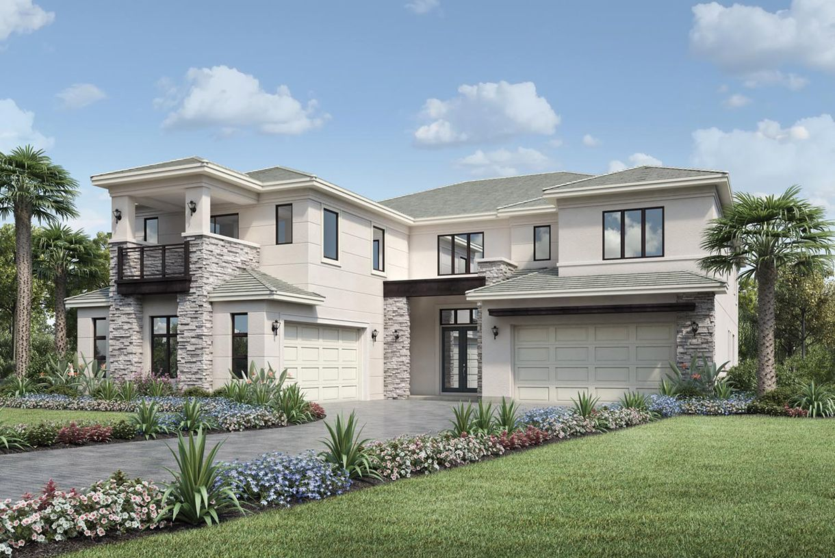 Exterior featured in the Cosenza II By Toll Brothers in Broward County-Ft. Lauderdale, FL