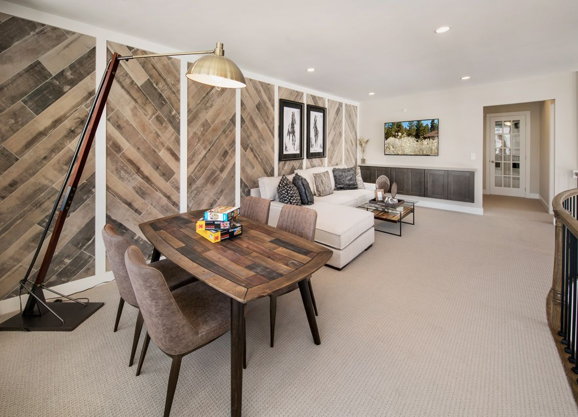 Living Area featured in the Kington By Toll Brothers in Boston, MA