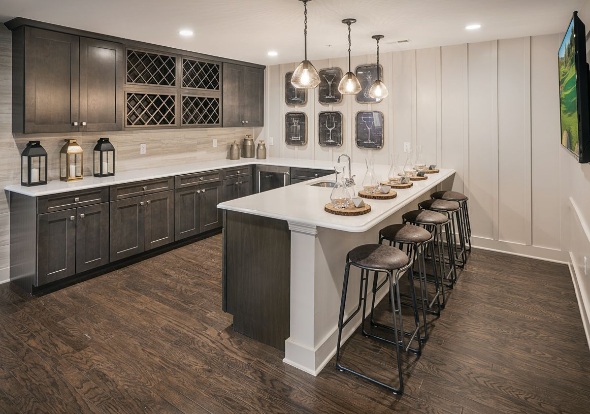 Kitchen featured in the Kington By Toll Brothers in Boston, MA