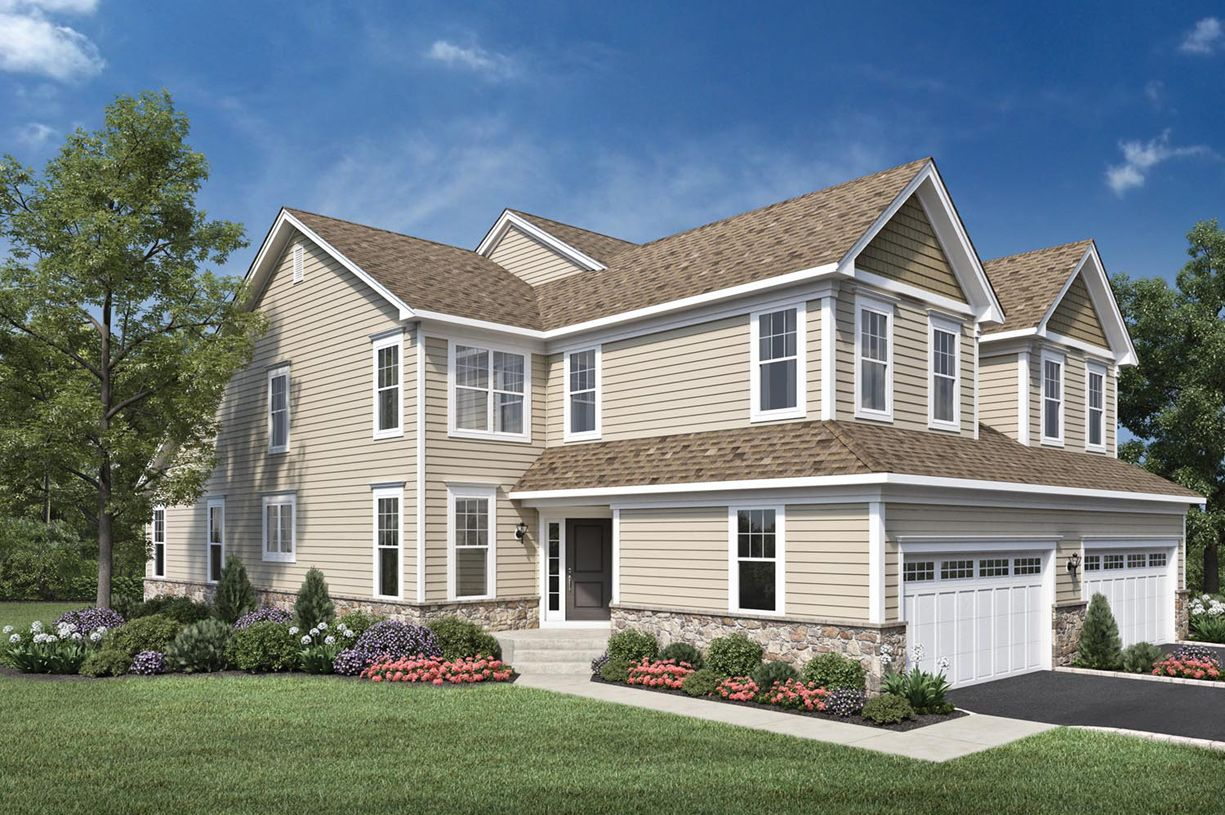 Exterior featured in the Henderson By Toll Brothers in Danbury, CT