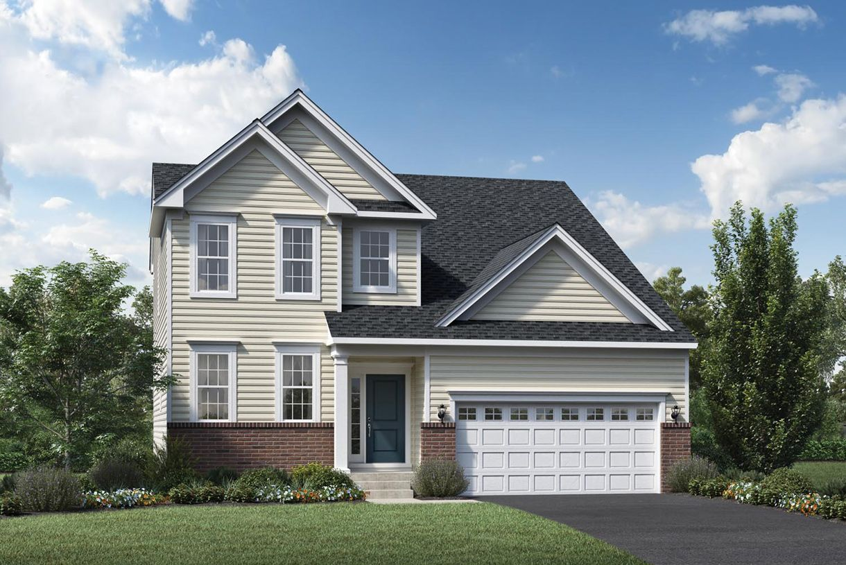 Exterior featured in the Dresher By Toll Brothers in Philadelphia, PA